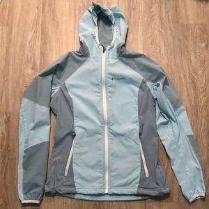 Columbia Sportswear softshell hooded Jacket